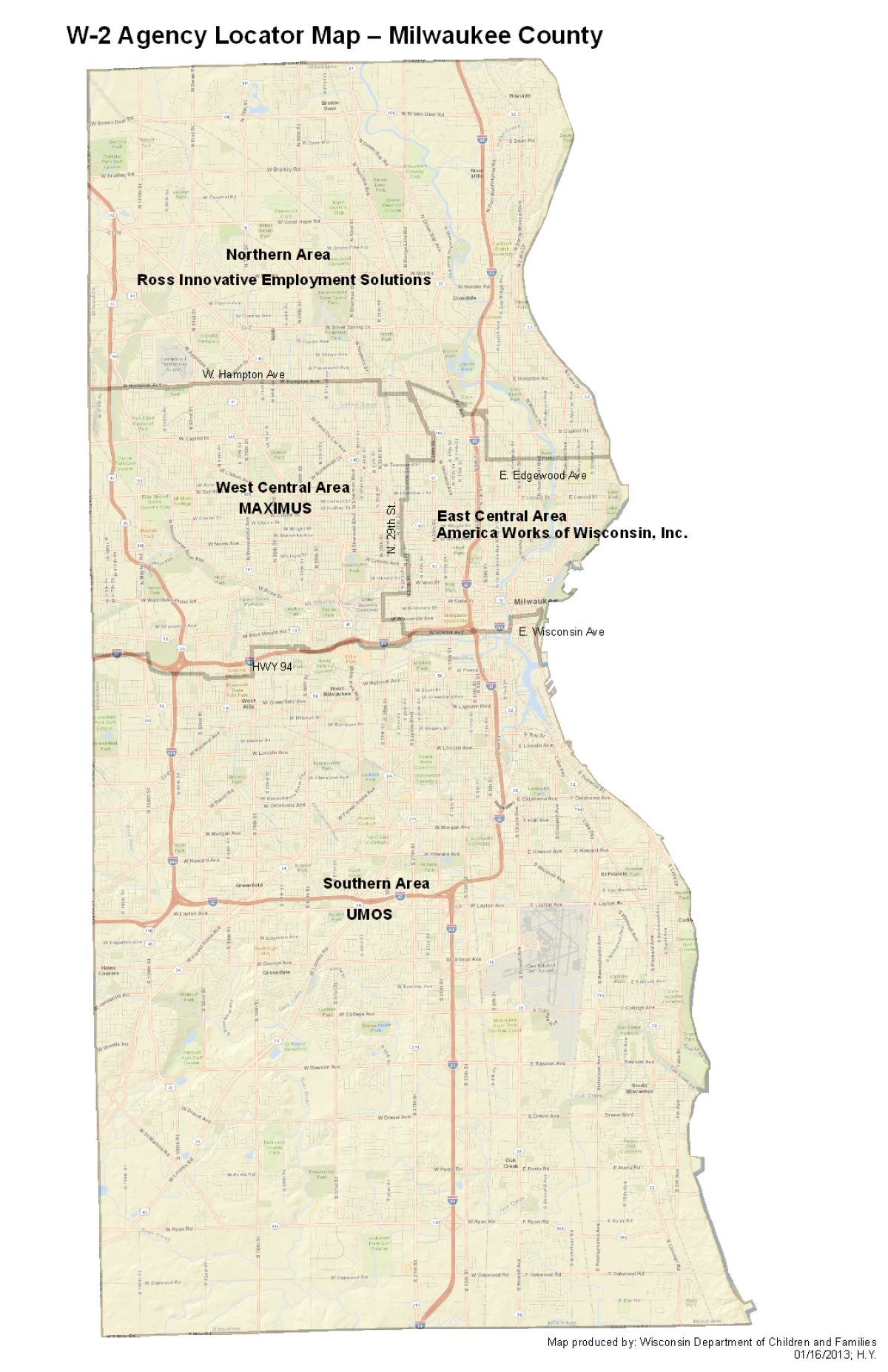 Wisconsin Works (W-2) Milwaukee County | Wisconsin Department Of Children And Families