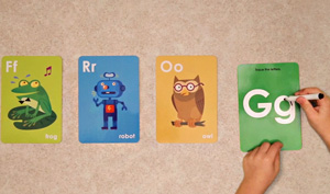 Image of Alphabet FlashCards and Letters